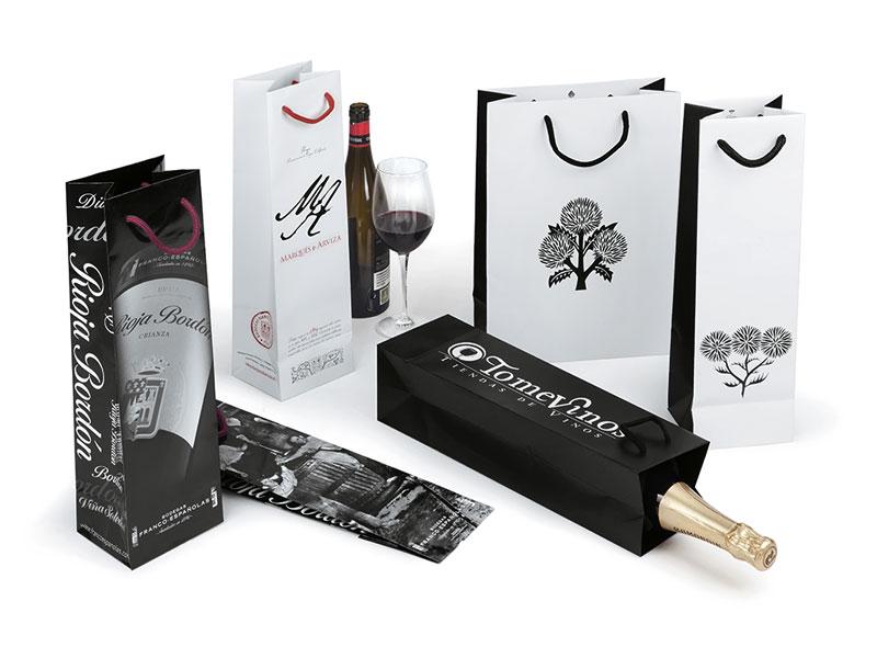 241366b26 Bolsas de papel para vino, cava o bebidas - Toybe